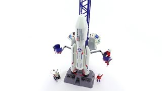 Playmobil Space Rocket with Base Station review! set 6195