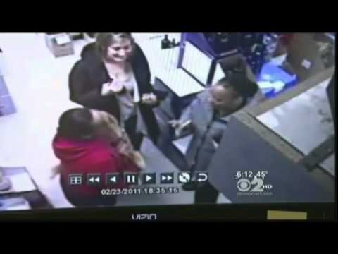Liquor store bottle-breaking rampage