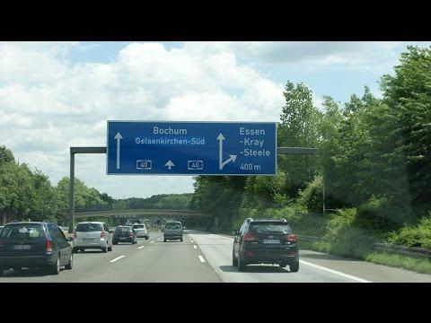 German highway /Autobahn/ How to look like a freeway Germany