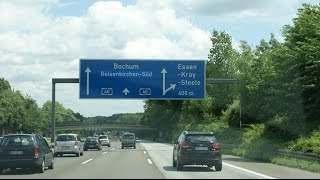 German highway /Autobahn/ How to look like a freeway Germany