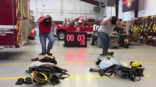 ESD3 Firefighter Bunker Gear Training take 1