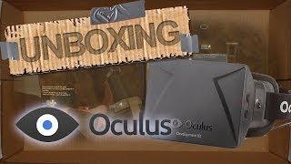 Unboxing Development Kit Oculus Rift I Español I