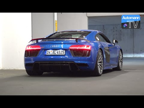 2017 audi r8 v10 plus (610hp) - pure sound (60fps) - youtube