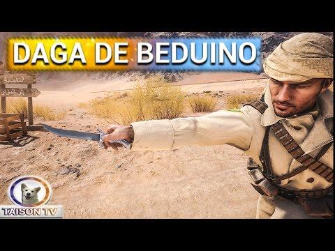 """Battlefield 1 El loco del Melee Episodio 3 """"Daga de Beduino"""""""