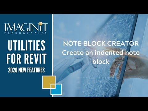 Utilities for Revit Note Block Creator