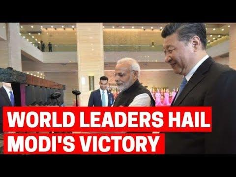World leaders hail Modi's victory
