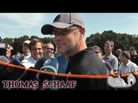Interview mit Thomas Schaaf   Eintracht Frankfurt