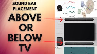 🔥 Best placement for soundbar | Soundbar placement | Soundbar placement above or below tv 🔥