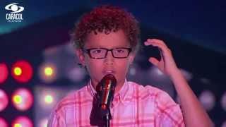 Juan Pablo cantó 'Cielito lindo' de O. Mendoza y Cortés - LVK Colombia- Audiciones a ciegas - T1