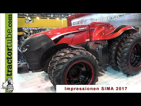 Sima 2017 - First Impressions Of Biggest Agricultural Show In France