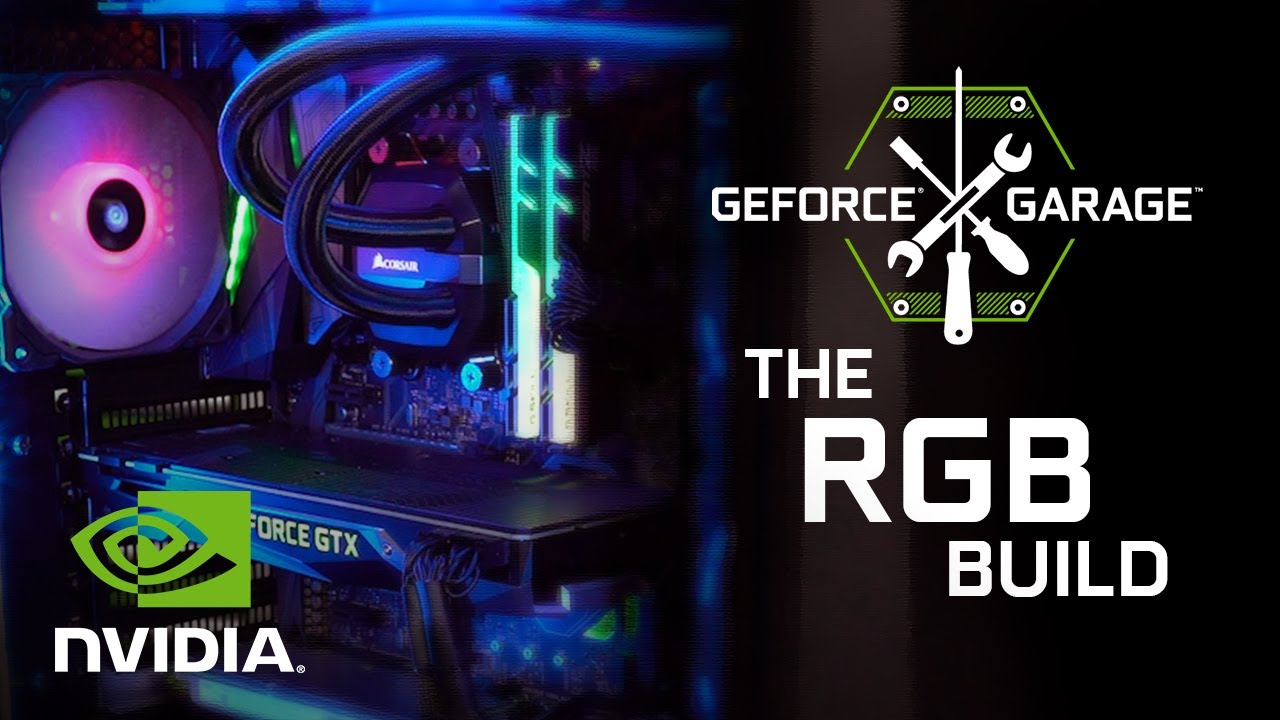 GeForce Garage: An Ultimate RGB Elite Performance Build