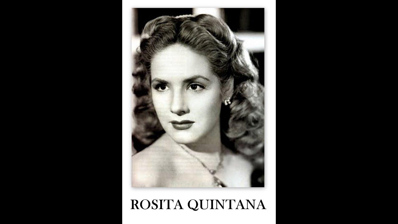 Rosita Quintana Diva Argentina Del Cine Mexicano