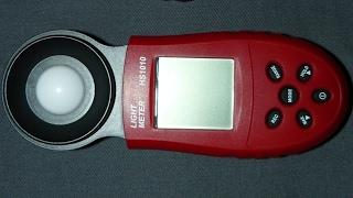Прибор для измерения освещенности люксметр HS1010 обзор и тест - купить на АлиЭкспресс