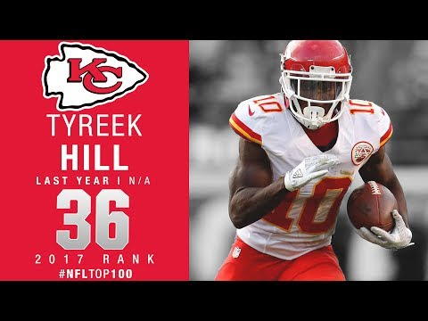 #36: Tyreek Hill (WR, Chiefs) | Top 100 Players of 2017 | NFL