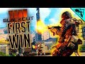 First Win - BLACKOUT Solo Gameplay (Call of Duty: Black Ops 4)