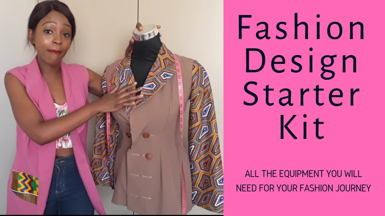 Fashion Design Starter Kit Youtube