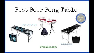 Best Beer Pong Table Review (2021 Buyers Guide)✅