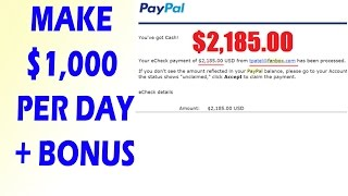How To Make Money Online Fast - Ways To Earn Money Online 2017 $1,000 Per Day