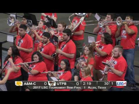 LSC Men's Basketball Tournament Texas A&M Commerce vs  UTPB 3/04/17
