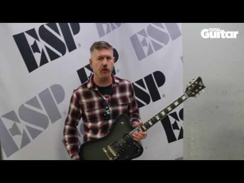 Me And My Guitar: Mastodon's Bill Kelliher / LTD Sparrowhawk
