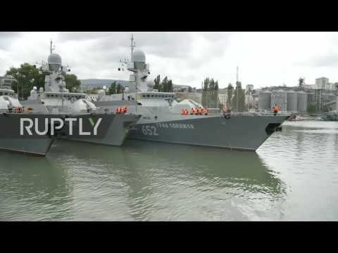 Russia: Caspian Fleet gears up for Caucasus 2016 military dr