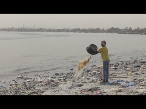 Marine pollution around Dakar reaches critical levels