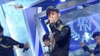 130208 Music Bank DMTN 디엠티엔 - Safety Zone 세이프티 존 [1080p HD]