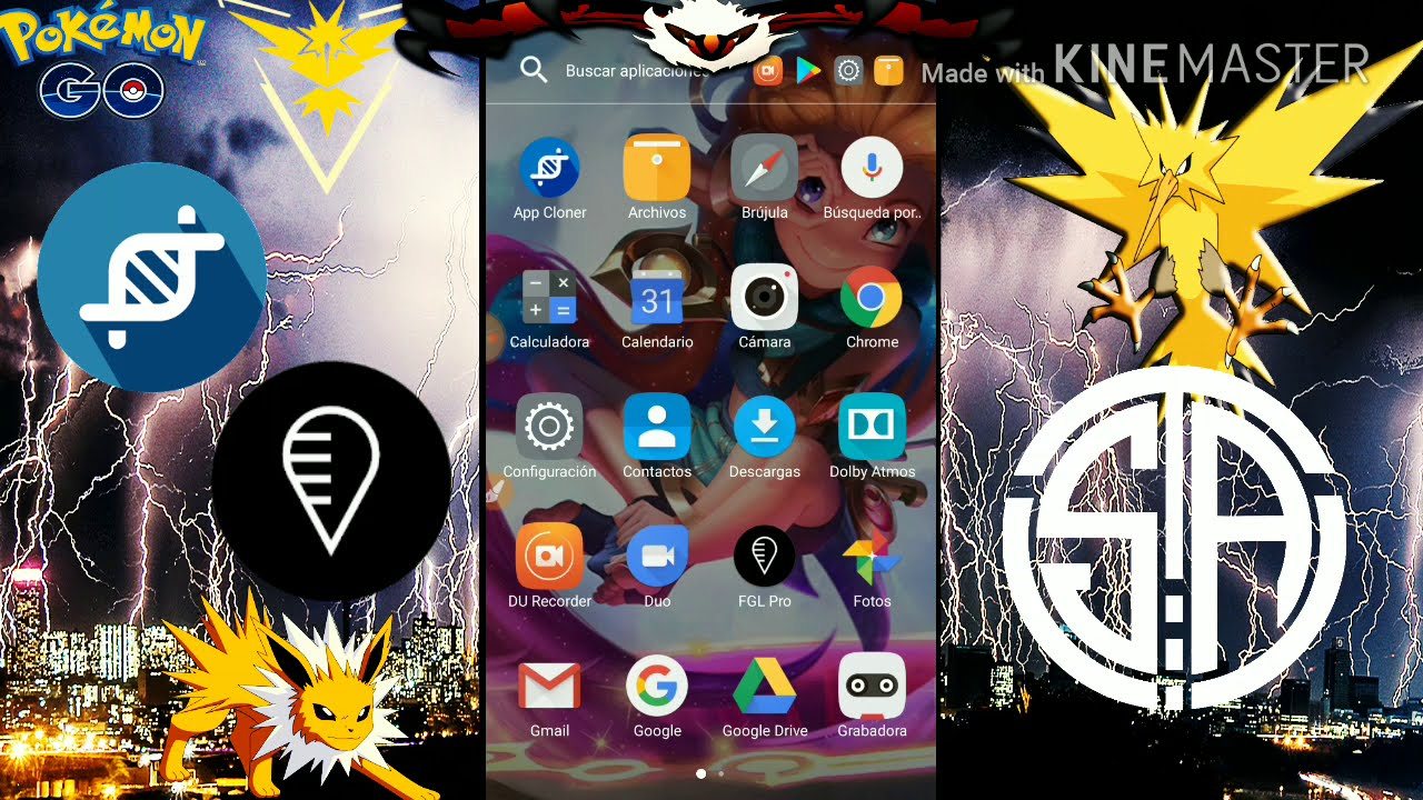 Hack Pokémon Go Joystick Android 6, 7 Y 8 Solucion Auto Actualización De  Google Play Services  Teamsolo Ayax 25:33 HD