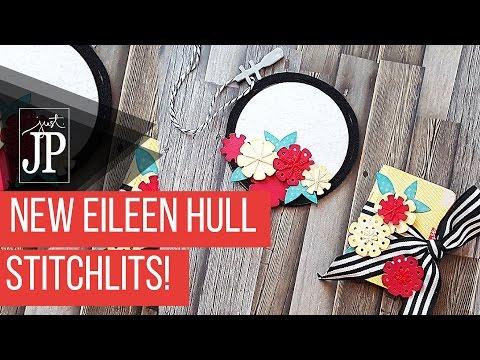 NEW Eileen Hull Stitchlits Dies-  DIY Air Freshener and MINI Planner