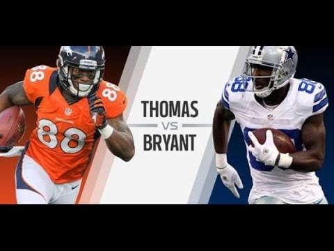 Dez Bryant is Better Than Demaryius Thomas - Ants Rants