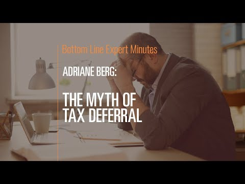 The Myth of Tax Deferral