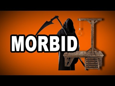 Learn English Words: MORBID - Meaning, Vocabulary with Pictures and Examples