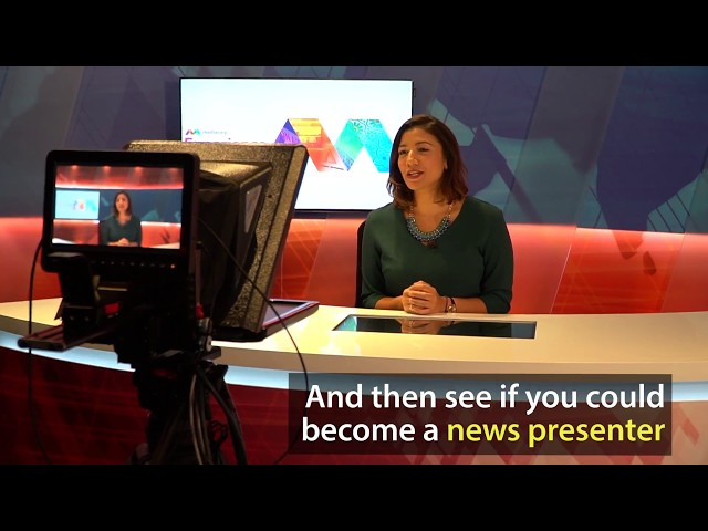 The Mediacorp Experience tour - an peek into Singapore's media industry