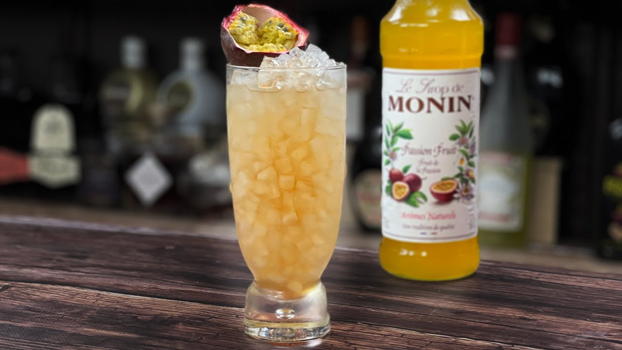 EASY Passion Fruit Cocktails - with Vanilla Vodka!