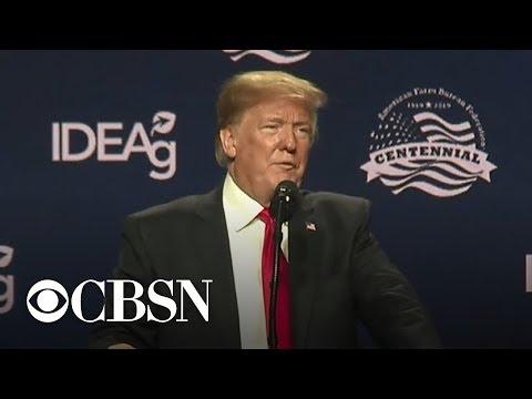 Trump uses Farm Bureau speech to push immigration agenda