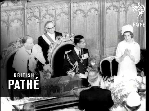 King Of Thailand At The Guildhall (1960)