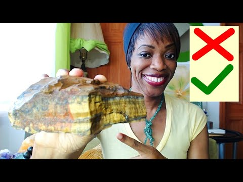 Before You USE Or WEAR TIGER EYE CRYSTAL - (DO NOT) Combine...