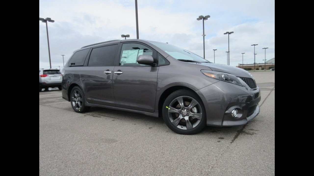 Unique 2017 Toyota Sienna SE Technology Package Review And Walk Around