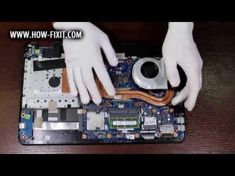 Обзор и разборка игрового ноутбука Asus ROG GL551JW (GL551JW-CN389T)