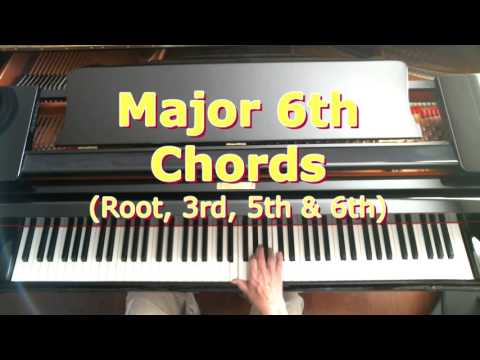 4 Note Chords: Major 6th Chords