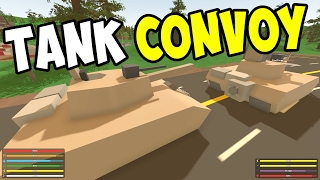 UNTURNED GangZ - Three Tank Raid (again!) S4E03 (Washington Multiplayer PvP)