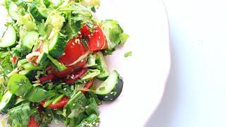 Полезный овощной салат / Healthy Vegetable Salad