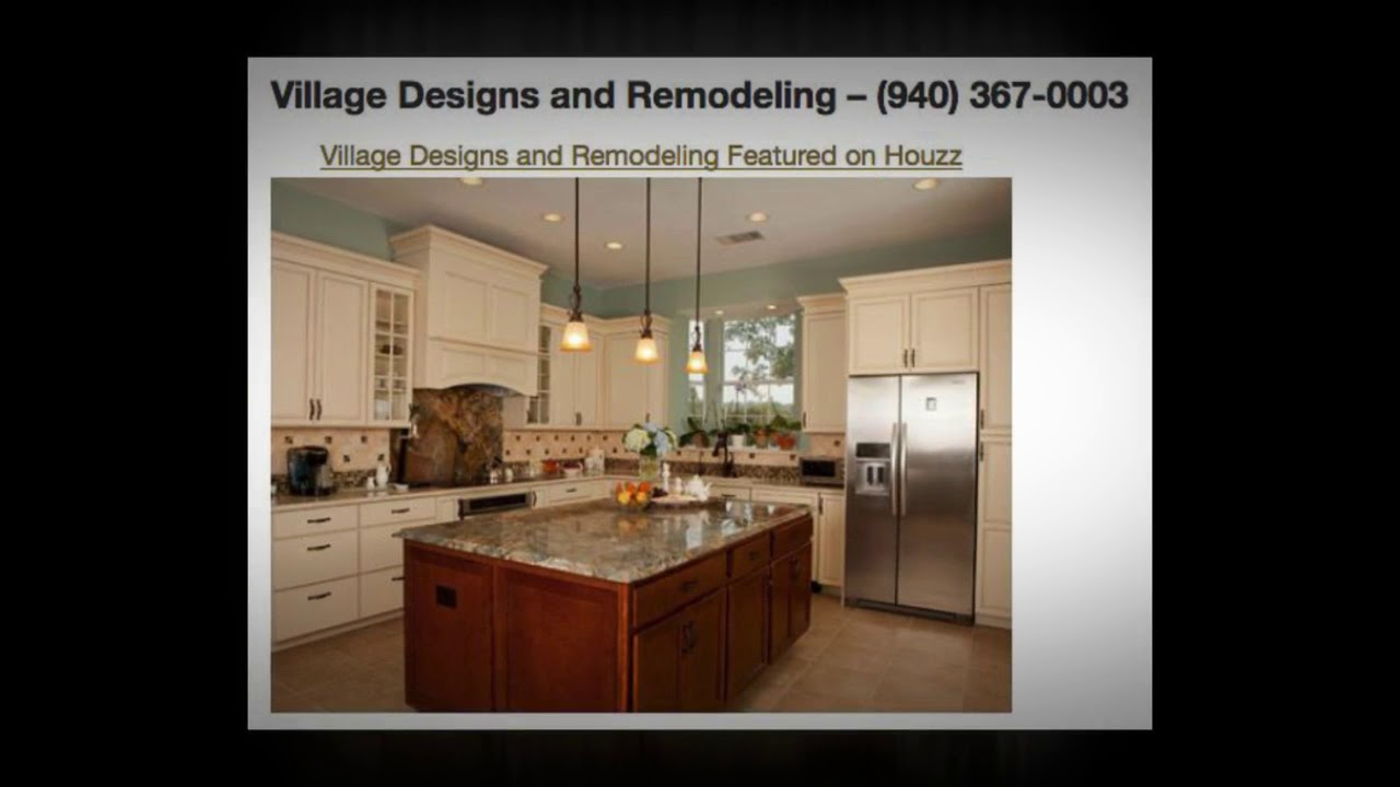 Kitchens Bathrooms By Village Designs And Remodeling Denton