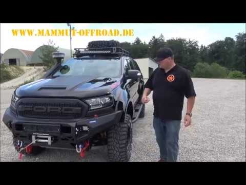 ford ranger extrem umbau tuning mammut ranger youtube. Black Bedroom Furniture Sets. Home Design Ideas