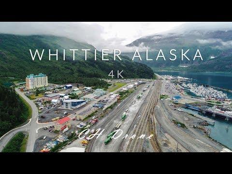 WHITTIER ALASKA ABANDONED BUILDING!!!! 4k drone video