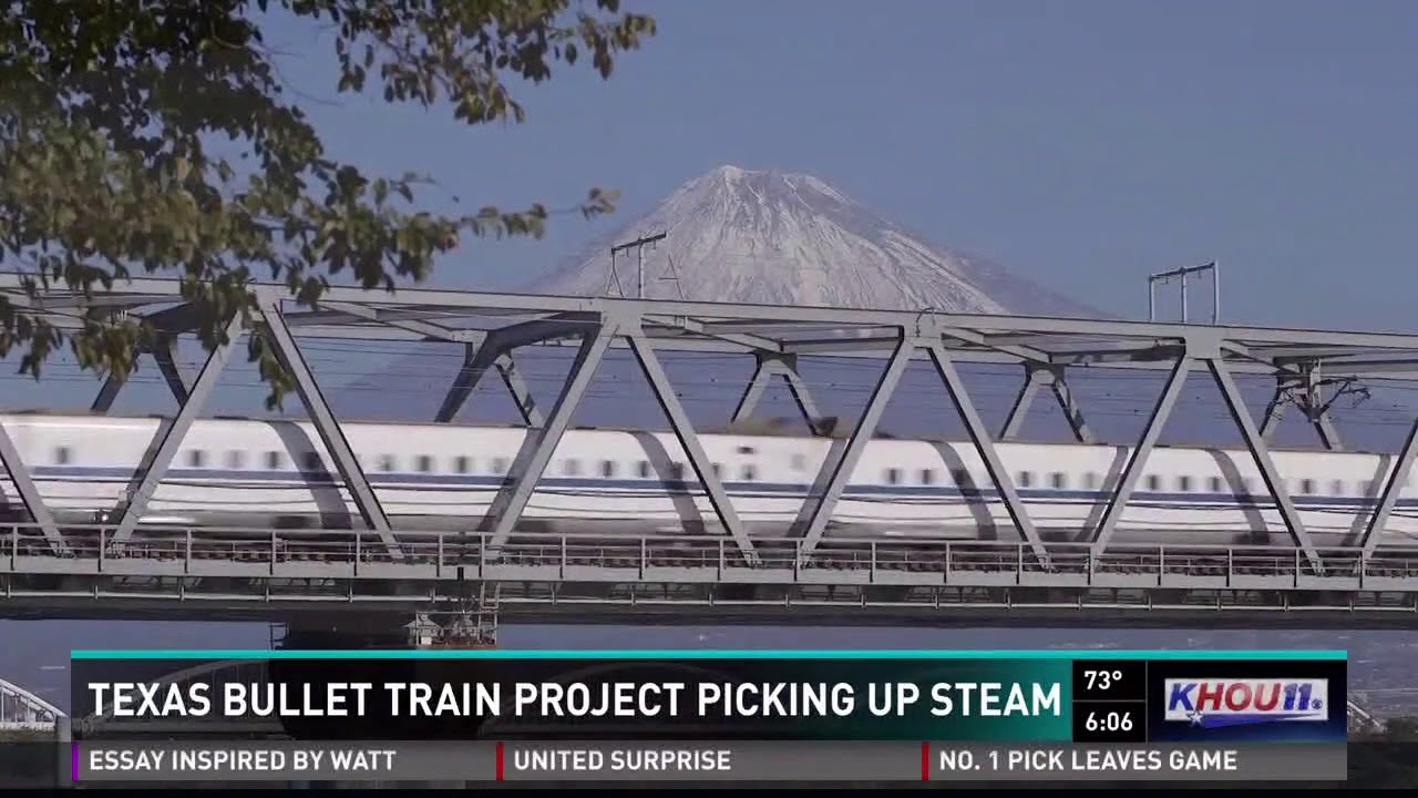 Texas bullet train project picking up steam