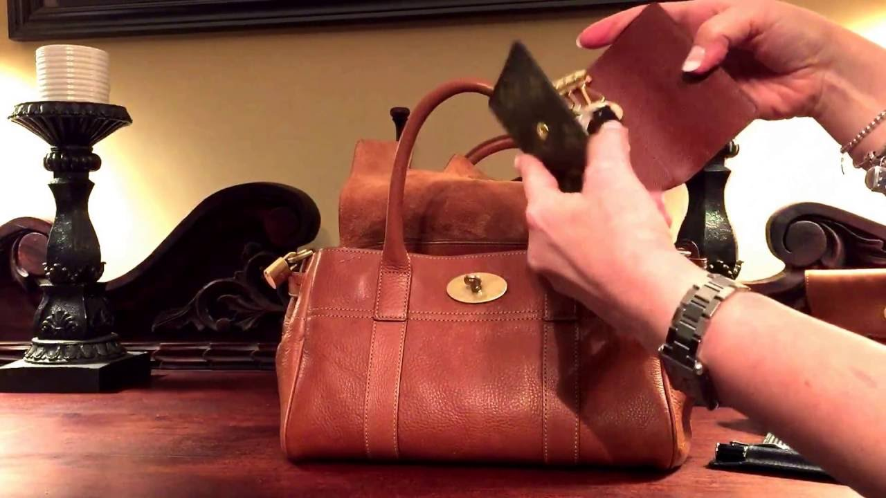 896e9ce3bc What s in my Bag~Mulberry Small Bayswater Satchel - YouTube