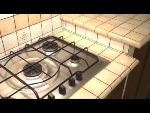 Realizzazione cucina in muratura - YouTube