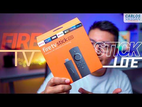 Amazon Fire TV Stick LITE (2020)     La opción MÁS BARATA y MÁS POTENTE