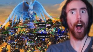 Asmongold Does a RAID In Classic WoW!